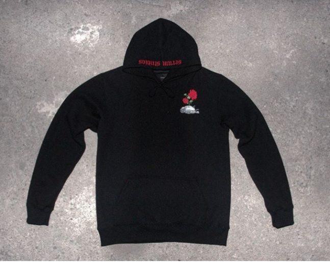 lifeless bird hoodie black