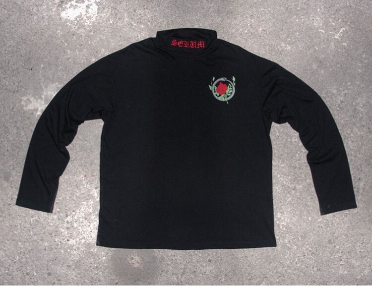 rebirth turtleneck black